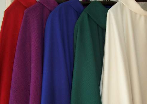 gothic chasubles