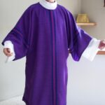 Handwoven Deacon Dalmatic Roman Purple